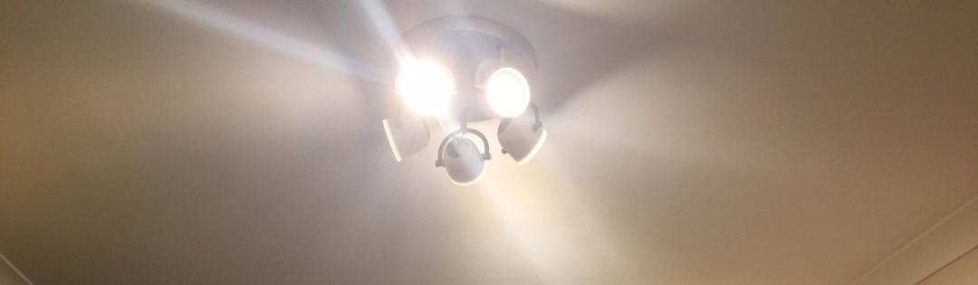 Lights in mum's new room