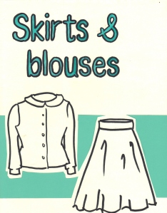 Skirts&blouses-sign