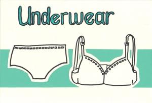 Underwear-sign